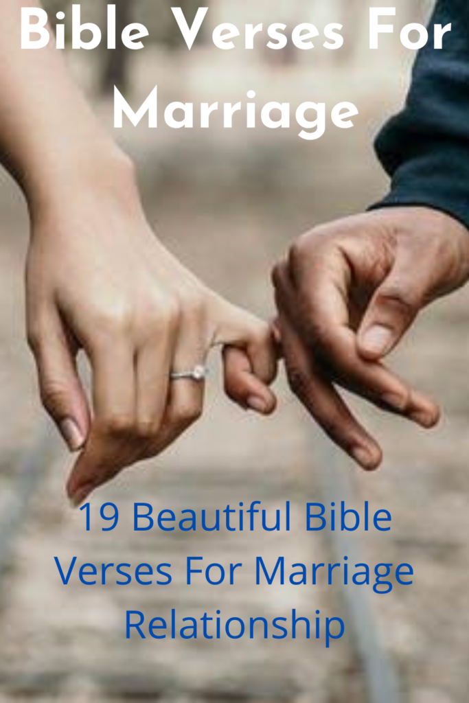 Bible Verses For Marriage