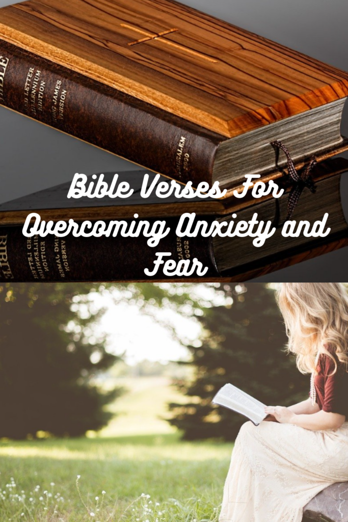 Bible Verses For Overcoming Anxiety