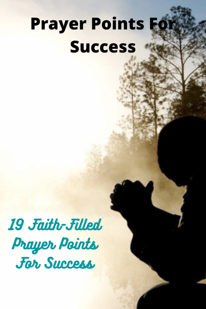 Prayer Points For Success