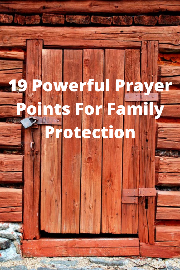 Prayer Points For Family Protection