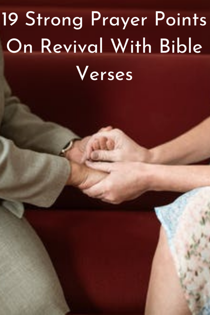 Prayer Points On Revival With Bible Verses